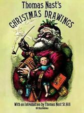 Dover Fine Art, History of Art: Thomas Nast's Christmas Drawings by Thomas...
