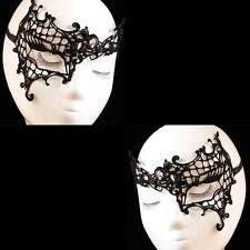 Sexy Face Mask Fancy Masquerade Ball Costume Party HALLOWEEN Black Lace Eye IP1