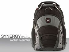 Swiss Gear Synergy 14.16 L Backpacks - Black/Grey | eBay