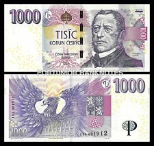 CZECH REPUBLIC 1000 KORUN 2008 UNC P 25