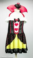 Queen Of Hearts Sexy Plus Size 2 Pc. Faux Fur Trimmed Halter Dress & Hat 1x-2x