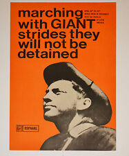 1967 Cuban Political Poster.Latin America Freedom in ENGLISH.Very rare OSPAAAL.