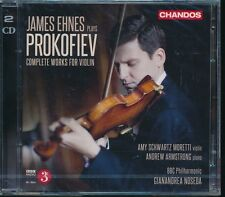 James Ehnes Plays Prokofiev Complete Works for Violin CD NEW