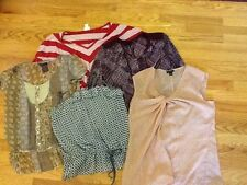 LOT of 5 Size Small Blouses Tops Old Navy, Ann Taylor, Limited, Mossimo