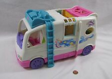 Fisher Price Loving Family Dollhouse BEACH VACATION MOBILE HOME RV CAMPER VAN