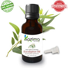 KAZIMA Eucalyptus Essential Oil (15ML) - Pure Natural  Undiluted Oil