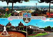 Grüsse aus Bad Nauheim , Ansichtskarte , gelaufen