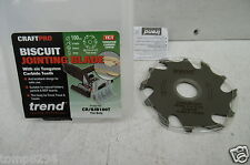 BRAND NEW TREND 100MM X 6 TOOTH BISCUIT DOWEL JOINTER BLADE CR/BJB100T FREUD ETC