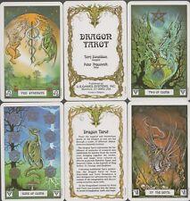 Dragon Tarot - 78 tarot & cuadernillo en inglés! mundo de los dragones, pracownik