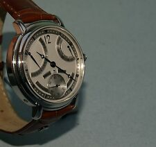 MAURICE LACROIX* WATCH MEN MECHANICAL MASTERPIECE MP6198 CALENDRIER RETROGRADE