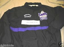 Minneapolis Southwest High School Lakers Hockey PULLOVER Jacket L LARGE Adult