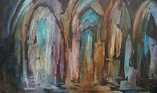 Original Large Vintage Oil Painting Genady Anatolevich Semakov LISTED Signed