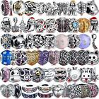 Fashion Gemstones Jewelry 925 Sterling Silver Beads For Charm Bracelets Necklace