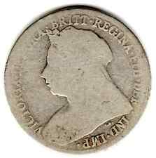 1895 12d 1s Silver ONE SHILLING twelve pence Queen Victoria
