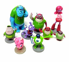 WALT DISNEY películas Monsters University Figura Set algunos caracteres raros