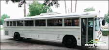 2002 BLUE BIRD 40' PASSENGER BUS - 45 PASSENGER - NATURAL GAS JOHN DEER ENGINE -