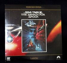 LASERDISC STAR TREK THE SEARCH FOR SPOCK WIDESCREEN EDITION----ISBN-0792120884