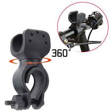 360° Universal Fahrrad Lenkerhalterung LED Lampe Taschenlampe Halterung Halter