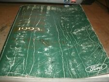1993 MERCURY VILLAGER FACTORY FORD COMPLETE SHOP SERVICE MANUAL OEM