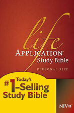 Life Application Study Bible-NIV-Personal Size by Tyndale House...