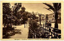 Cartolina Formato Piccolo - Bengasi - Giardino Pubblico E Veduta Del Cuore Itali
