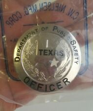 Texas Department of Public Safety Capital Police Badge.
