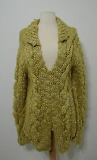 """Chunky Thick Handmade Cable Knit Sweater From the Movie """"Five-Year Engagement"""""""