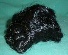 """Poupée perruque noir 6.7"""""""