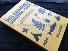 THE WILDERNESS SURVIVAL GUIDE - Bushcraft Book Outdoor Camping Kit Joe O'Leary