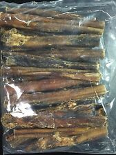 "MADE IN USA 20 pack 6"" standard bully sticks NATURAL"