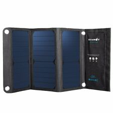 BlitzWolf®Portable SunPower Solar Charger USB Solar Panel Charger with Power3S