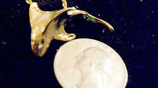 bling gold plated sea big killer shark fish pendant charm chain hip hop necklace