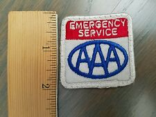 AAA EMERGENCY SERVICE Advertising Patch American Automobile Association Car