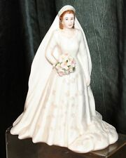 Royal Worcester Royal Brides Her Majesty Queen Elizabeth II Figurine