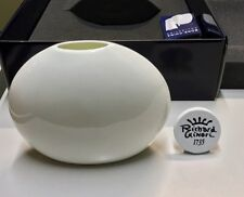 Richard Ginori Vaso Luna Bianco 129 5173 - Luna Vase - Setsu Ito - NEW IN BOX