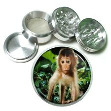 Baby Monkey Aluminum Grinder D4 63mm 4 Piece Adorable Ape Cute