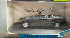 MINICHAMPS BMW SERIES 3 E36 CABRIOLET 1/43