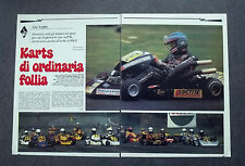 AH23 - Clipping-Ritaglio -1981- KARTS DI ORDINARIA FOLLIA