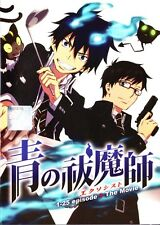Blue Exorcist Full Series + Movie DVD in English Audio