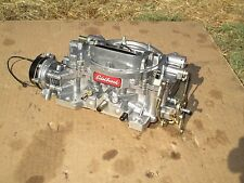 Edelbrock Performer Carburetor 1411 Carb 750 cfm + Electric Choke NICE!
