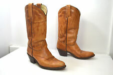 FRYE Brown Leather Western / Cowboy Boots, Women's Size 10 D Wide