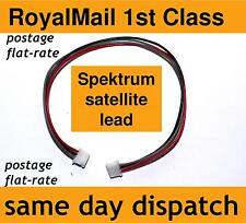 Spektrum Satellite Antenna Receiver Extension Lead 150mm Male Male ZH connector
