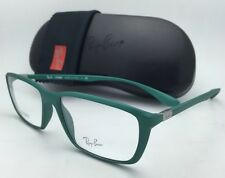 New RAY-BAN Eyeglasses LITEFORCE RB 7018 5252 56-16 145 Matte Green Frame