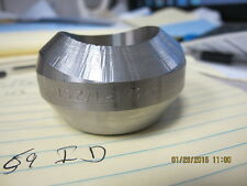 "2 ½"" Weldolet S80 ASTM A182 F316L 3000# Long 2.50 OD x 1.47 High 1.59 ID"
