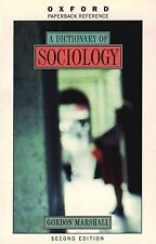 A Dictionary of Sociology (Oxford Quick Reference) by