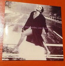 LISA MINNELLI +PET SHOP BOYS FROM RESULTS ALBUM DONT DROP BOMBS 5 INCH CD SINGLE