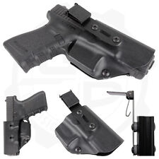 Compact Holster with UltiClip for Glock G17 G18 G19 G22 G23 G32 G34 G35 Pistols
