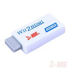 Wii to HDMI 720P/1080P Converter Adapter HD Video Audio Output for Nintendo Wii
