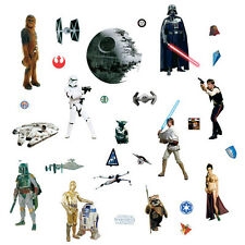 York Star Wars Peel & Stick Wall Decal 31 pieces 937793