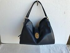 NWT COACH F37637 Black Smooth Leather CARLYLE Shoulder Bag